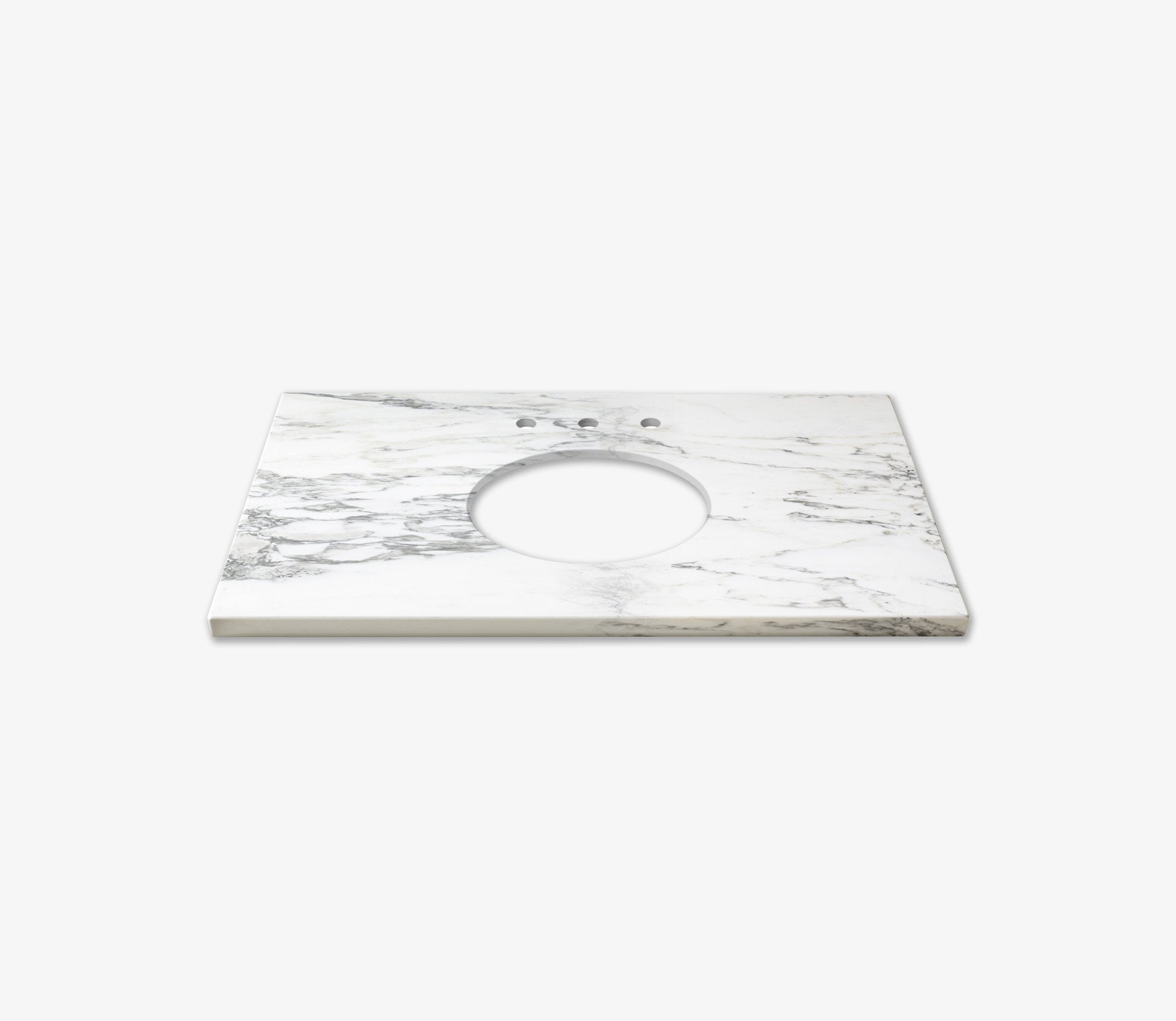 Marble Top Extra Wide Single Calacatta Product Image 1