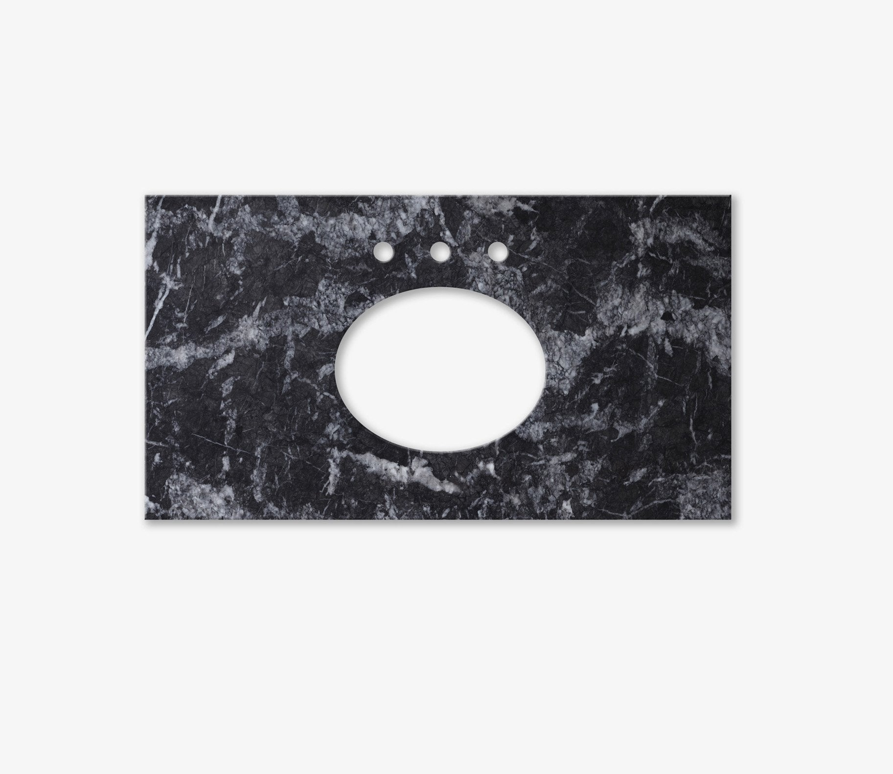 Marble Top Extra Wide Single Grigio Product Image 2