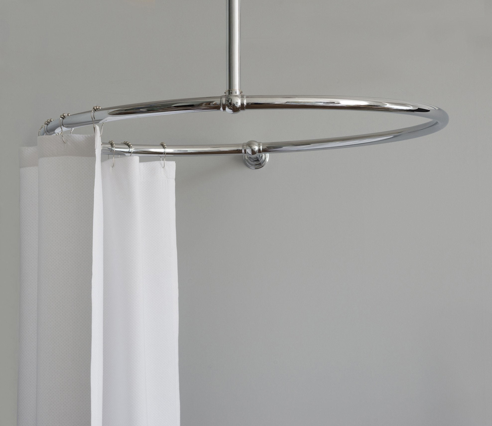 Shower Curtain Rail Round Rail Product Image 2