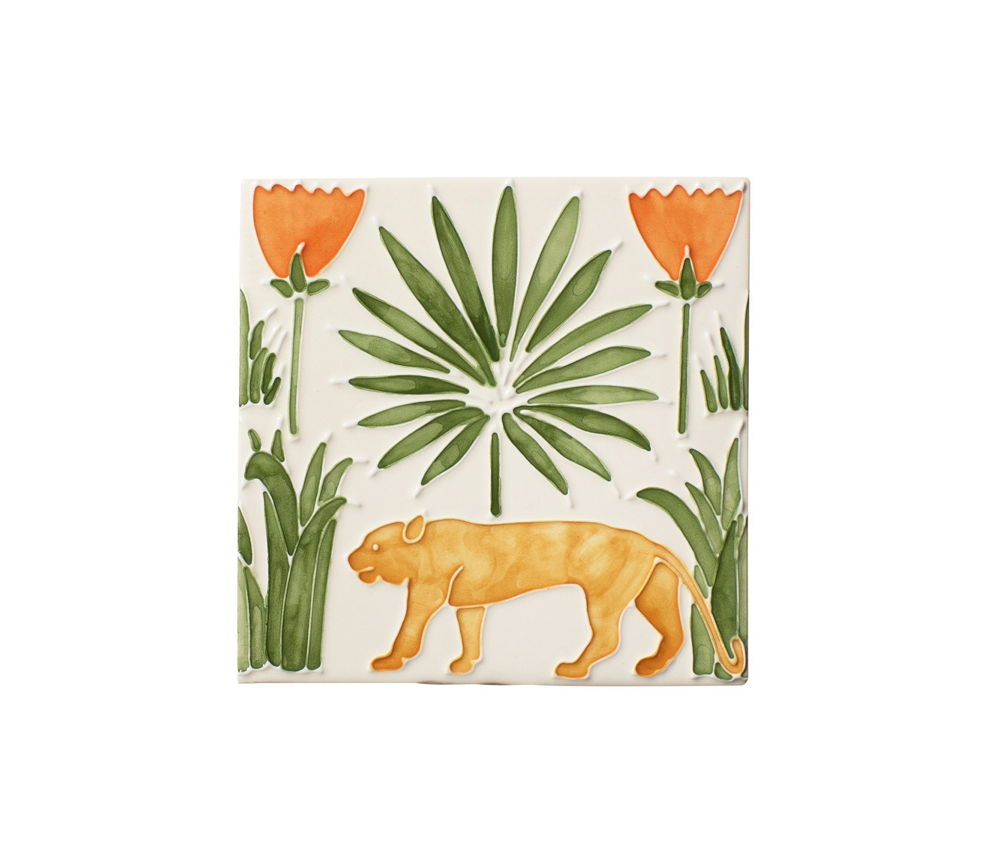 Lioness & Palms Tiles Product Image 3