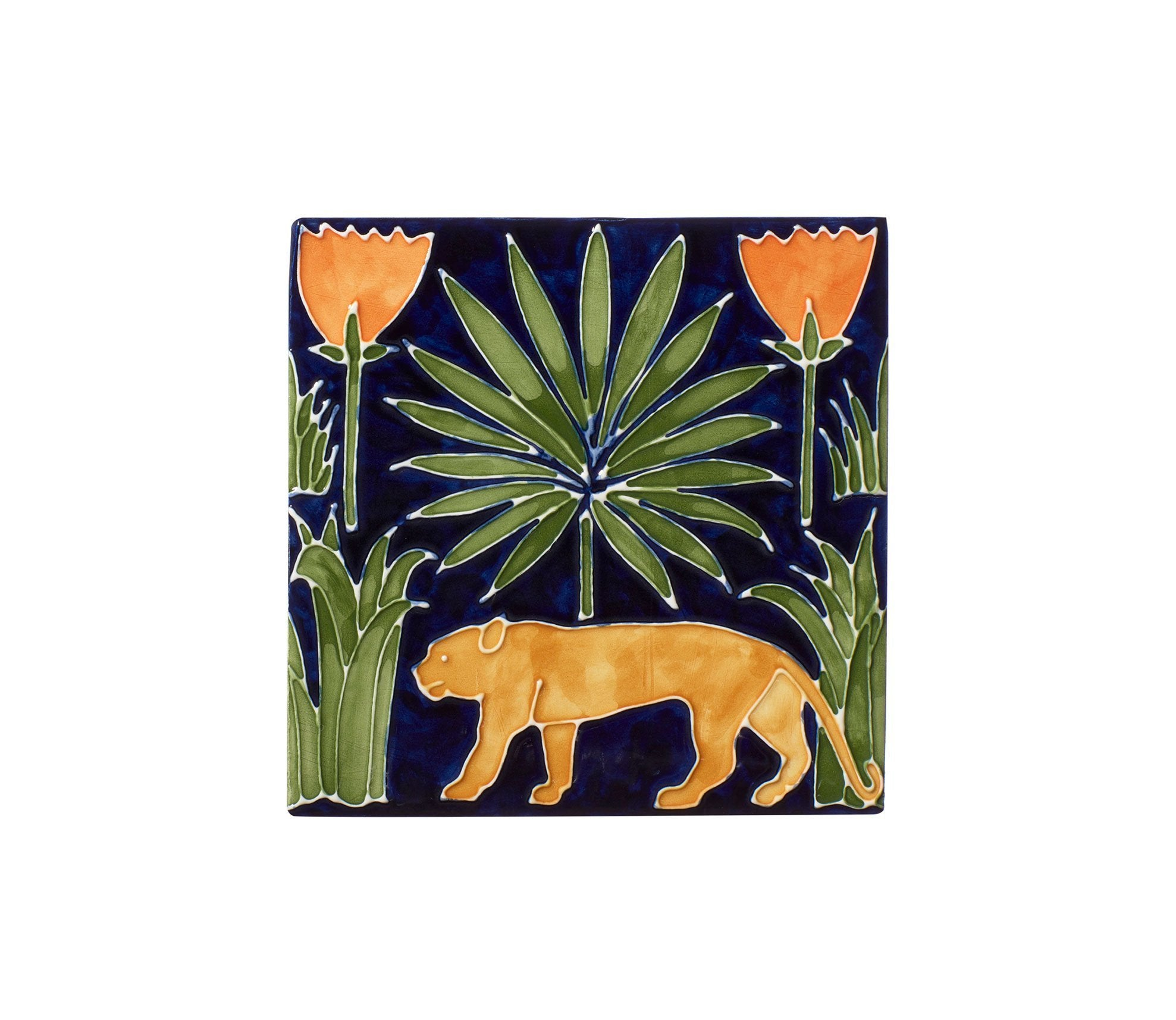 Lioness & Palms Tiles Product Image 4