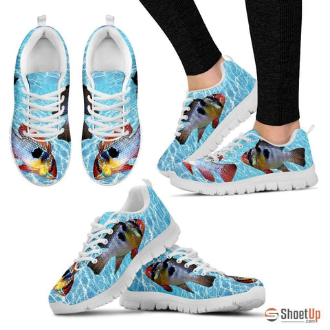 Ram Cichlid Fish Running Shoes For Women