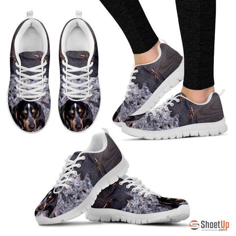 Bluetick Coonhound Dog Running Shoes For Women