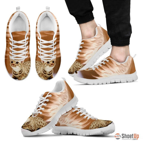 Ocicat Print Running Shoes For Men