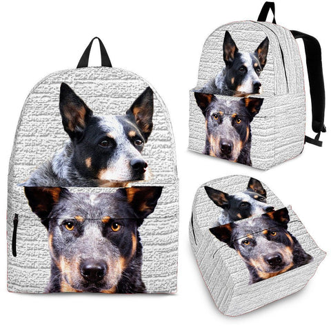 Australian Cattle Dog Print BackpackExpress Shipping