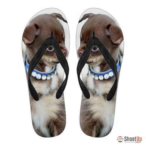 Chihuahua Puppy Flip Flops For Women