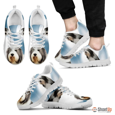 Bearded Collie Dog Running Shoes For Men