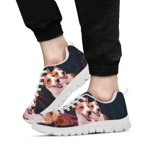 Amazing Basenji Dog Print Running Shoes