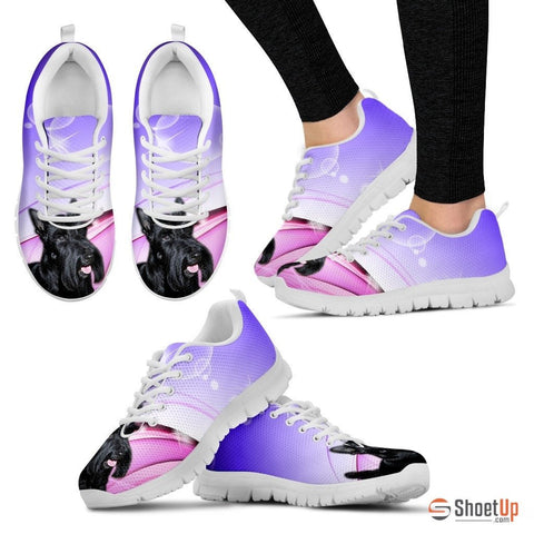 Scottish Terrier Dog Running Shoes For Women