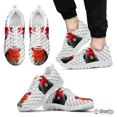 GangGang Cokatoo White Running Shoes For Men Limited Edition