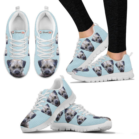 Customized Dog Print SneakersFor WomenExpress ShippingDesigned By Benthe Schou