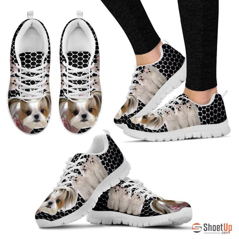 Shih Tzu Dog Running Shoes For Women
