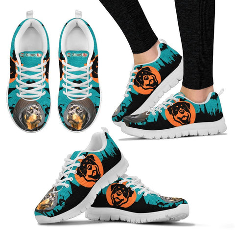 Rottweiler HalloweenRunning Shoes For Women And Kids