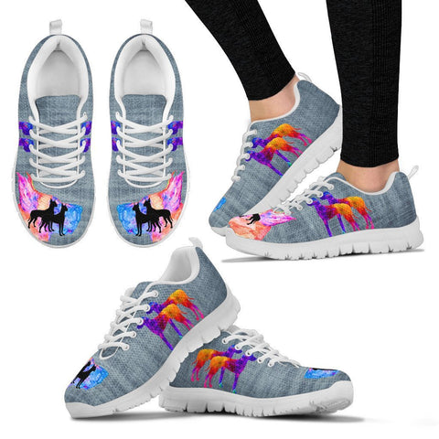 Amazing Great Dane Print Running Shoes For Women