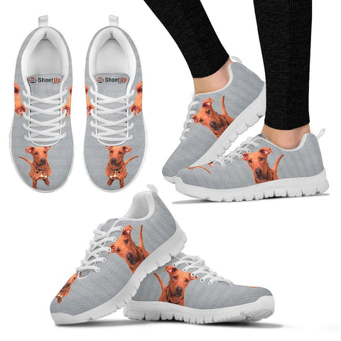 Customized Dog Print Running Shoes For WomenExpress ShippingDesigned By Giovanna Riccio