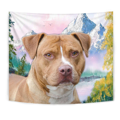 American Staffordshire Terrier Print Tapestry