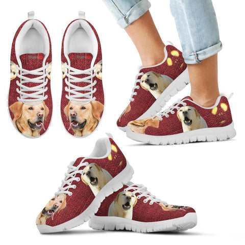 Halloween Labrador Retriever Print Running Shoes For Kids