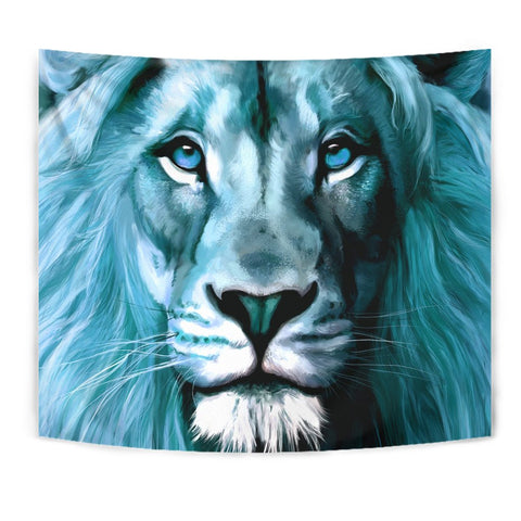 Amazing Lion Art Print Tapestry