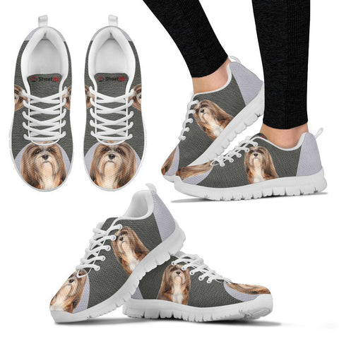 Little Lhasa Apso Dog Running Shoes For Women