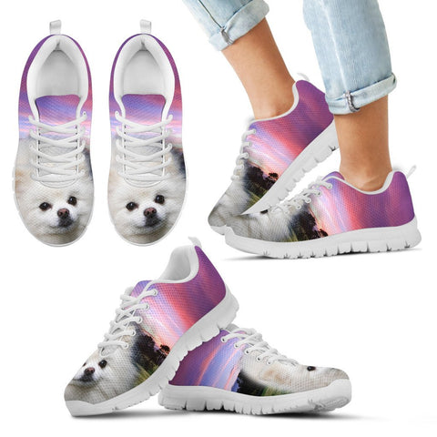 Pomeranian Dog Running Shoes For Kids3D Print
