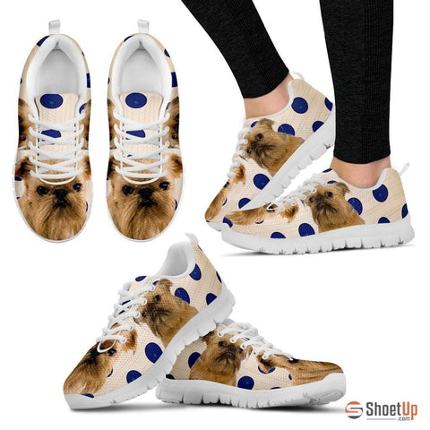 Brussels Griffon Dog Running Shoes For Women