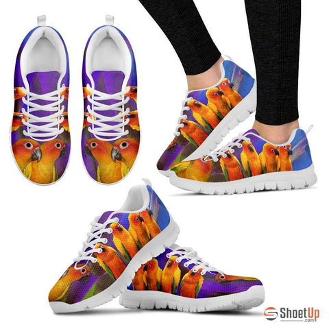 Conure Parrot Running Shoes For Women