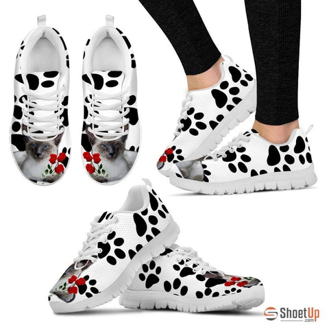 Javanese Cat Print Running Shoes For Women