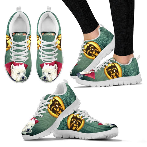 Westie HalloweenRunning Shoes For Women And Kids