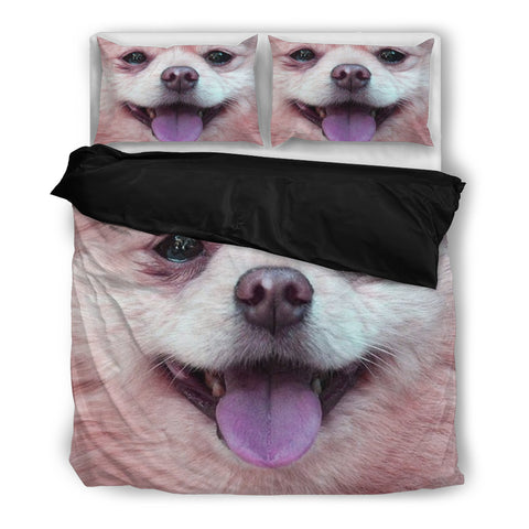 Cute Pomeranian Bedding Set