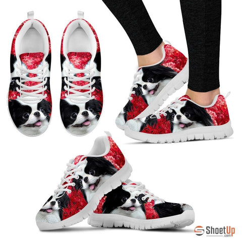 Japanese Chin PinkRunning Shoes For Women