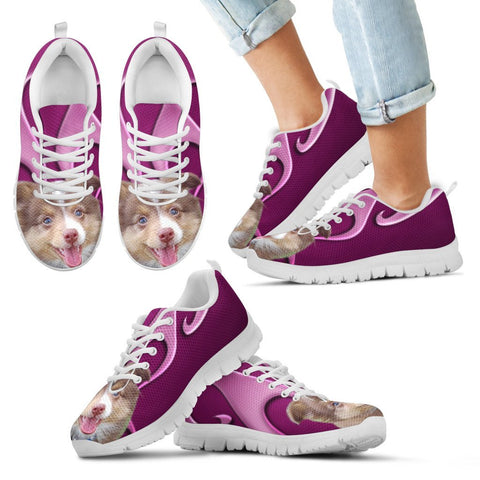 Miniature Australian Shepherd Dog Running Shoes For Kids