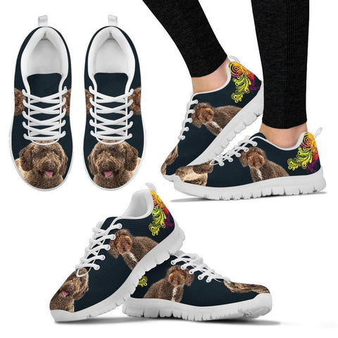 Spanish Water Dog Print Running Shoes For Women