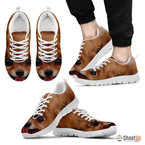 Pomeranian Dog Print Running Shoe (Men And Women)