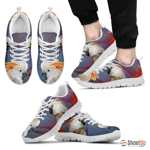 SalmonCrested Cockatoo Parrot Running Shoes For Men
