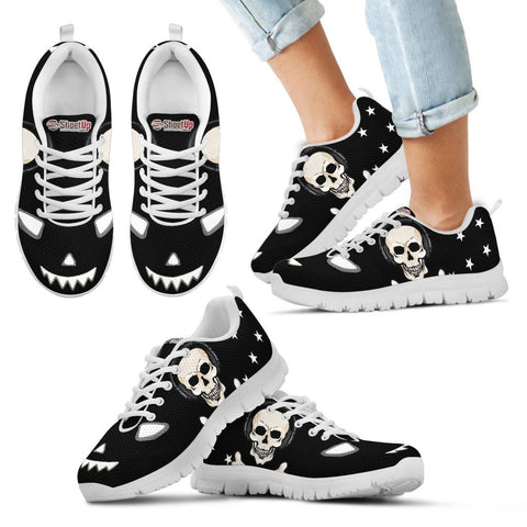 Halloween Themed Print Shoes For Kids