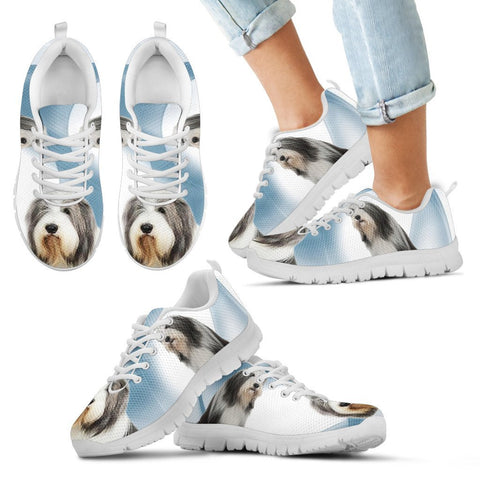 Bearded Collie Dog Running Shoes For Kids