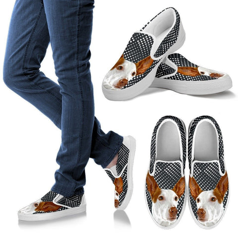 Ibizan Hound Dog Slip Ons For Women