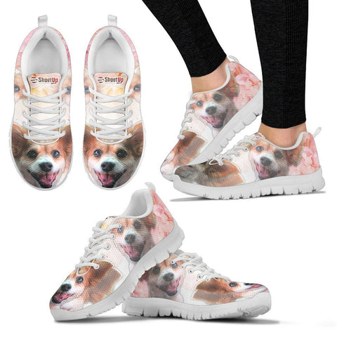 Amazing Customized Dog Running Shoes For WomenDesigned By Sandy HunterExpress Shipping