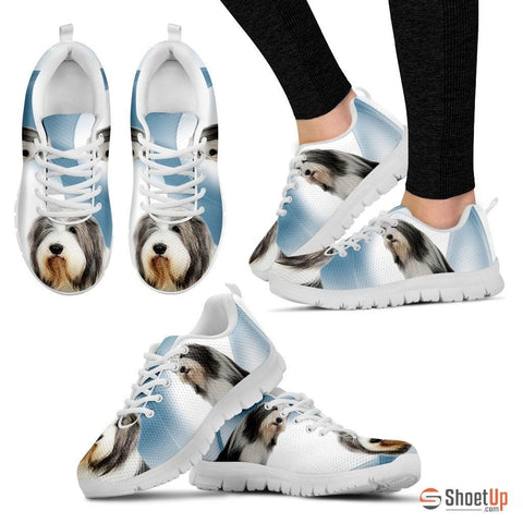 Bearded Collie Dog Running Shoes For Women