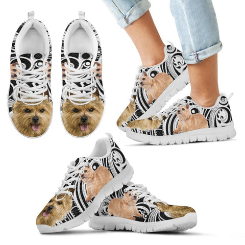 Norwich Terrier Dog Running Shoes For Kids