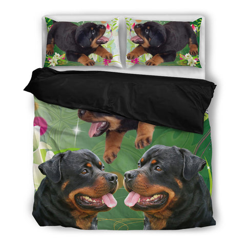 Rottweiler Print Bedding Set