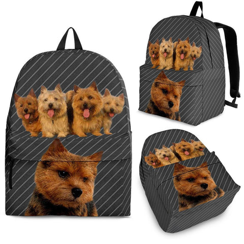 Norwich Terrier Print BackpackExpress Shipping
