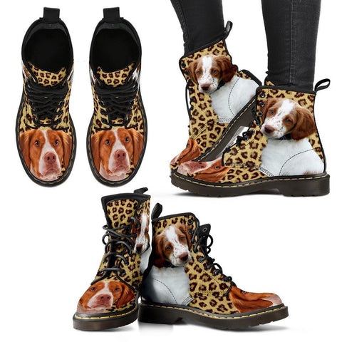 Brittany Print Boots For WomenExpress Shipping