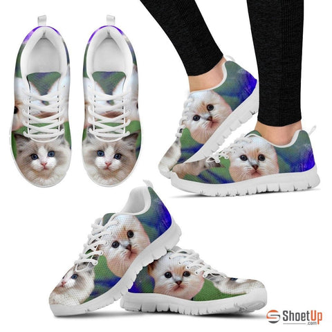 RagDoll Cat Print Running Shoes For Women