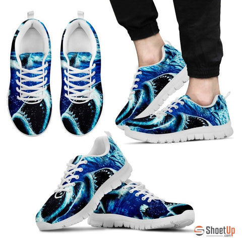 Shark Print Running Shoe (Men and Women)