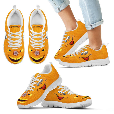 Halloween Print Running Shoes For Kids