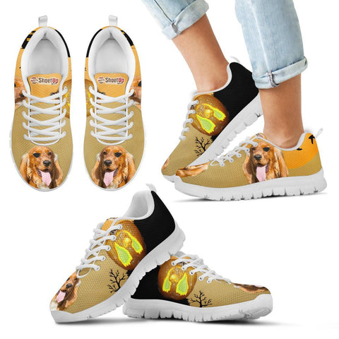 Cocker Spaniel Halloween Print Running Shoes For Kids And Women