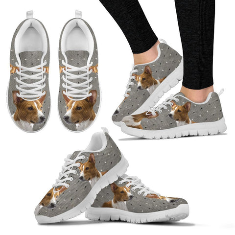 Basenji Print Running Shoes For Women