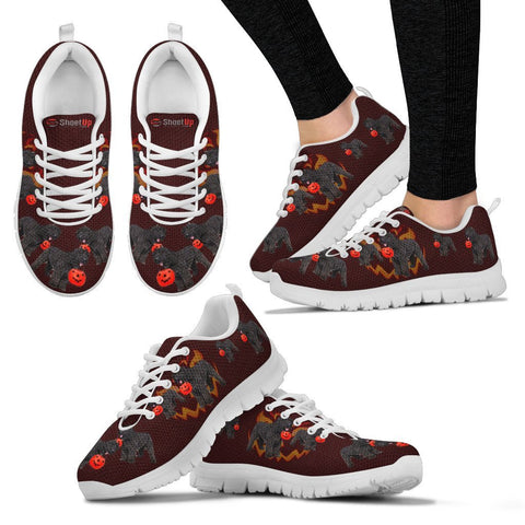 Bouvier des Flandres Halloween Print Running Shoes For Women