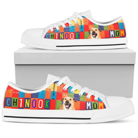 Chinook Mom Print Low Top Canvas Shoes For Women